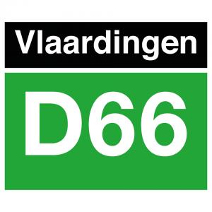 Logo D66 Vlaardingen