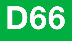 Logo D66 Landelijk