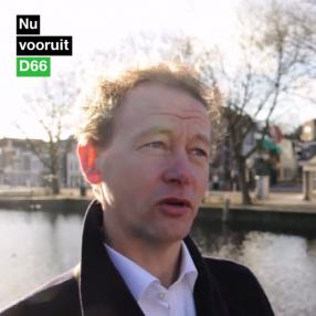 Peter Caljé screenshot tijdens opname campagnefilm 2014