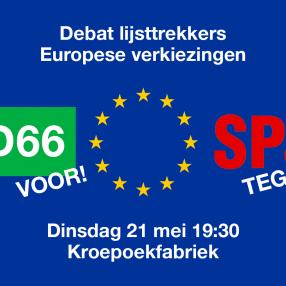 EU Lijsttrekkersdebat